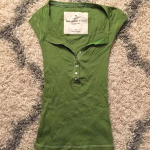 Abercrombie & Fitch Short Sleeve Henley S